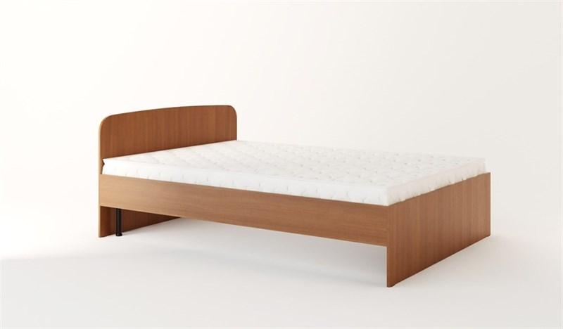 Каркас кровати (1400) под ортопедическое основание бук темный