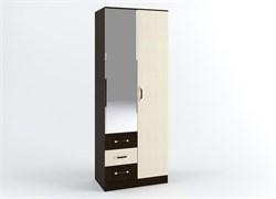 Шкаф «Ронда» 2-х створчатый (ящики и штанга) 800.3