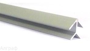 Планка для мебельных щитов угловая (4 мм.)