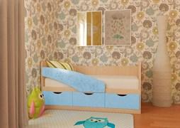 """Детская кровать """"Бабочки"""" 1,6 м"""