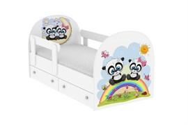 """Детская кровать """"Панды"""""""