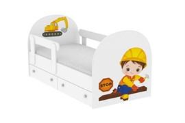 """Детская кровать """"Строитель"""""""