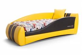 """Кровать """"Формула мини"""" жёлтый"""