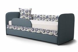 """Кровать """"ИВИ"""" Мишка в шапке синий"""