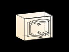 """Шкаф навесной L500 H360 (1 дв. гл.) """" Венеция"""""""