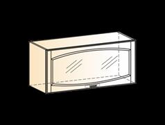 """Шкаф навесной L800 H360 (1 дв. рам.) """"Венеция"""""""