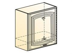 """Шкаф навесной под вытяжку L600 Н566 (1 дв. гл.) """"Венеция"""""""