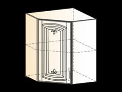 "Шкаф навесной угл L600х600 H720 (1 дв. гл.) ""Венеция"""