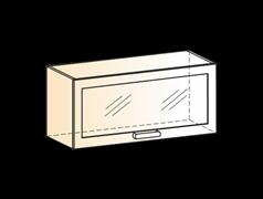 """Шкаф навесной L800 Н360 (1 дв. рам.) """"Виктория"""""""