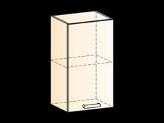 """Шкаф навесной L400 Н720 (1 дв. гл.) """"Яна"""""""
