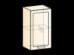 """Шкаф навесной L400 Н720 (1 дв. рам.) """"Яна"""""""