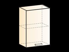 """Шкаф навесной L500 Н720 (1 дв. гл.) """"Яна"""""""