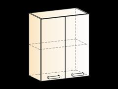 """Шкаф навесной L600 Н720 (2 дв. гл.) """"Яна"""""""