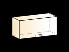 """Шкаф навесной L800 Н360 (1 дв. гл.) """"Яна"""""""