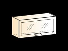 """Шкаф навесной L800 Н360 (1 дв. рам.) """"Яна"""""""