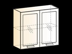 """Шкаф навесной L800 Н720 (2 дв. рам.) """"Яна"""""""