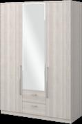 """Шкаф трёхдверный с двумя ящиками и с зеркалом """"Роксана"""""""