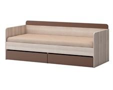 """Кровать (800) с 2 ящиками на поддоне ЛДСП """"Лимбо-1"""""""
