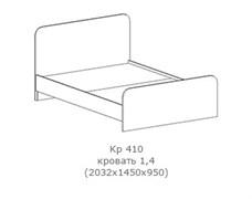 """Кровать """"Фиеста"""" КР 410"""