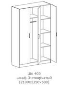 """Шкаф """"Фиеста"""" ШК 403 (схема)"""