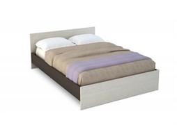 """Кровать 1,6 """"Бася"""" КР 553 венге/дуб беленый"""